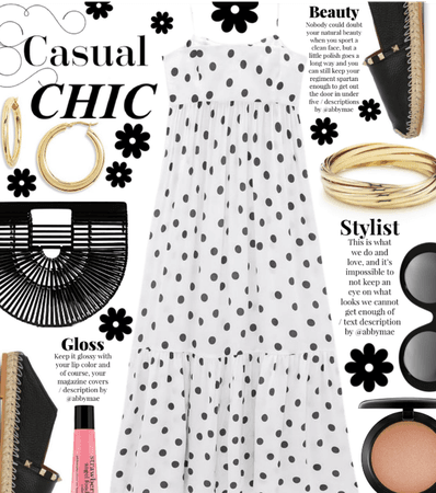 Casual Summer 2021 - Dot Dress