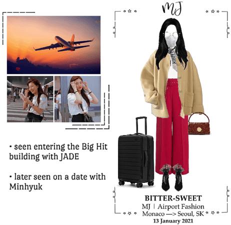 BITTER-SWEET [비터스윗] (MJ) Airport Fashion 210113
