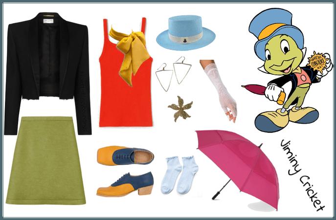 Jiminy Cricket outfit - Disneybounding