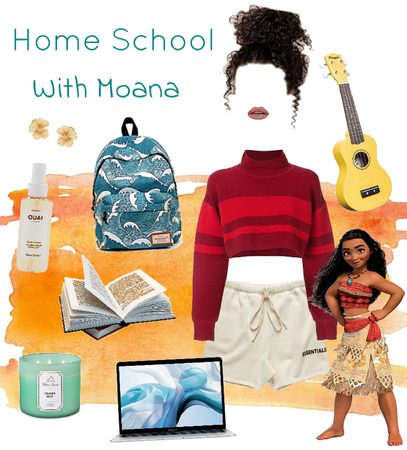Home School With Moana