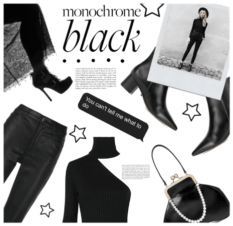 Monochrome Black Everything