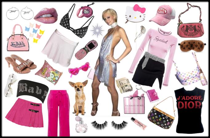 Paris Hilton circa 2002