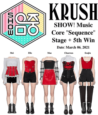 """KRUSH MBC Kpop Special Stage """"Sequence"""""""