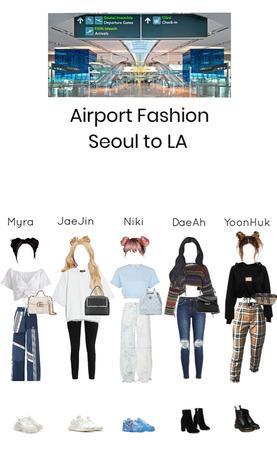 ~Valkyrie~ Airport Fashion Seoul to LA