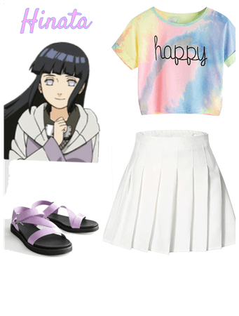 Hinata's outfit in Pain