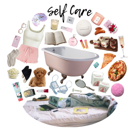 self care moodboard