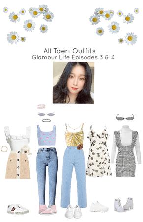 Taeri Glamour Life Outfits Episodes 3 & 4