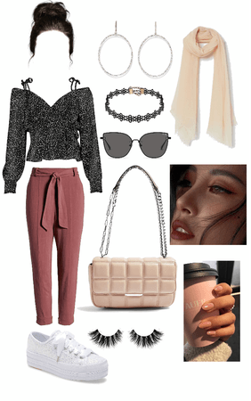 casual brunch outfit