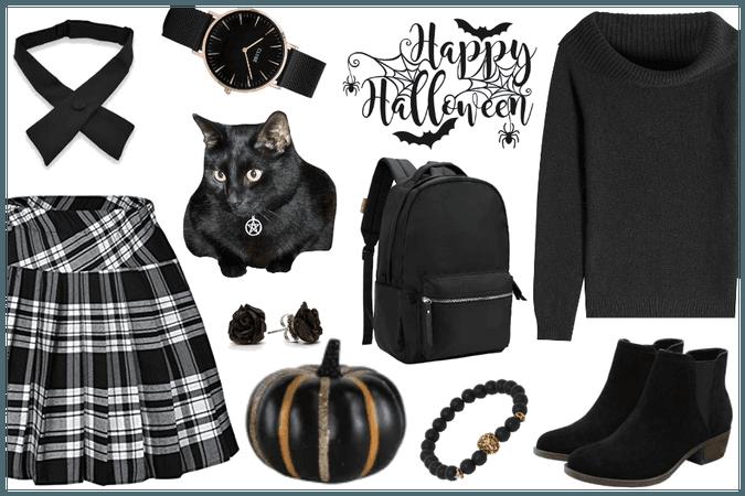 DIY Halloween - School Girl