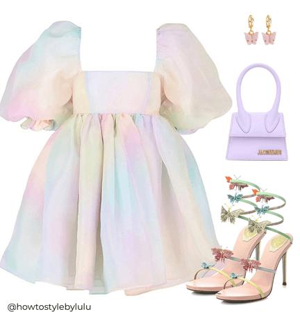 A rainbow fairy 🧚🏼♀️