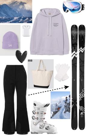 skiing gear 🎿⛷