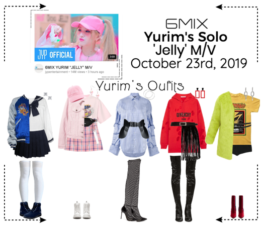 《6mix》'Jelly' M/V - Yurim's Solo