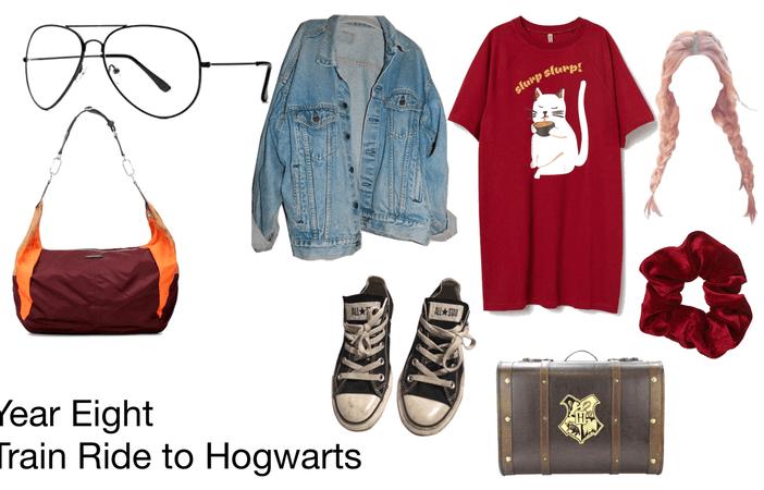 Year Eight - Train Ride to Hogwarts
