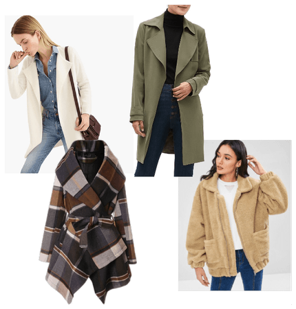 How to dress up your fall coat