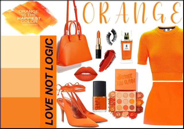 Orange Monochrome: Orange is the Happiest Color