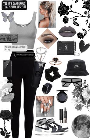 Black & Grey 🖤🕶🌚☑️
