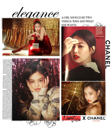 MARIONETTE (마리오네트) Jisu for CHANEL Magazine