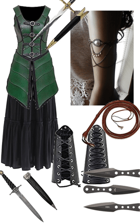 D&D outfit for a rouge