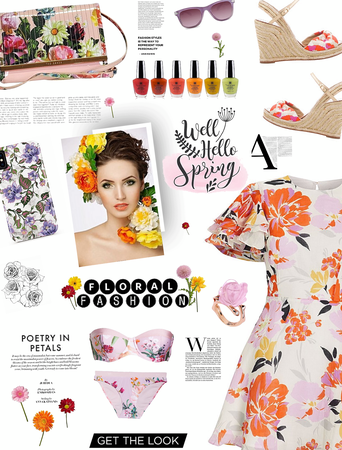 Hello Spring/FLORAL FASHIONS
