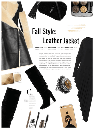 Fall Style: Leather Jacket:leather jacket contest