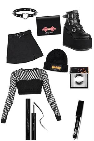 Trendy goth