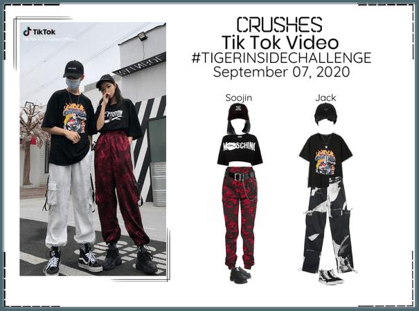 Crushes (호감) [Soojin & Jack] Tik Tok Challenge