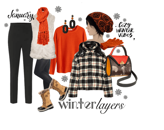Trend winter layers