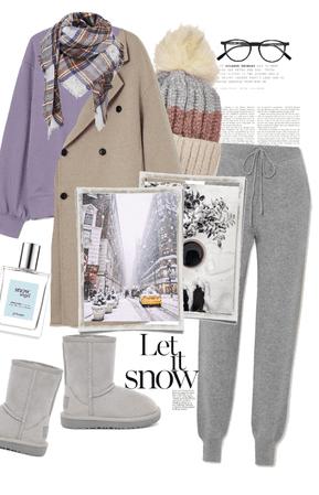 cozy snowy