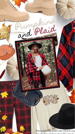 Pumpkins & Plaid