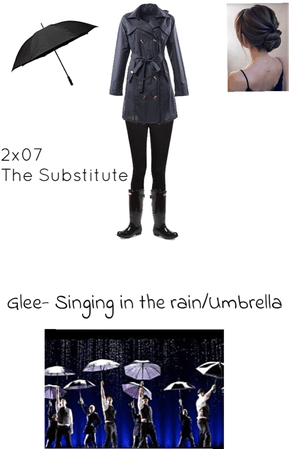Glee- Singing in the rain/ Umbrella