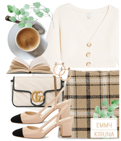Coffee shop chic~