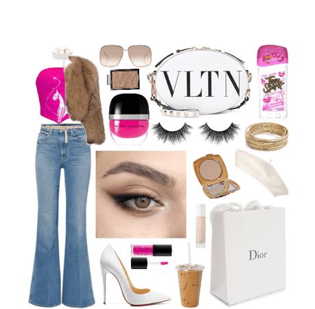 Lipstick in my Valentino White Bag?!