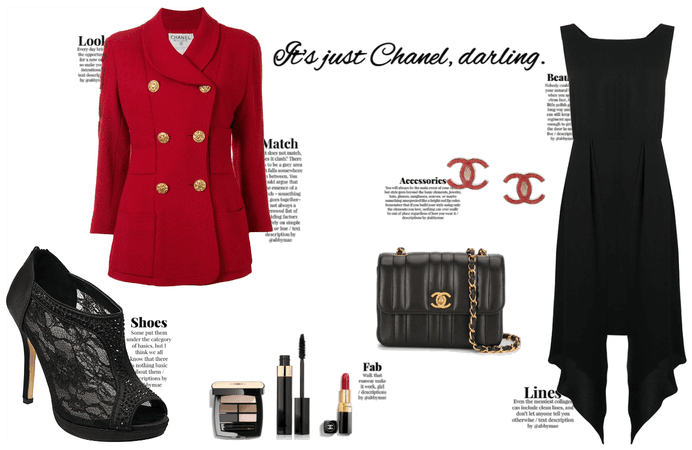 It's just Chanel, darling