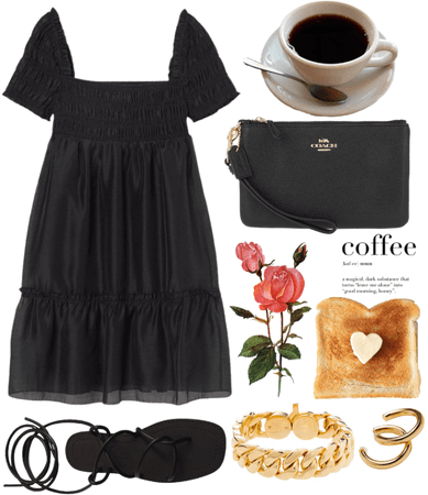 coffee + toast ☕️🍞
