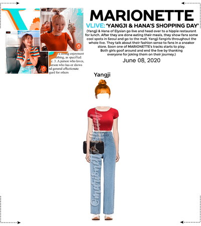 MARIONETTE (마리오네트) [YANGJI] V-App Livestream