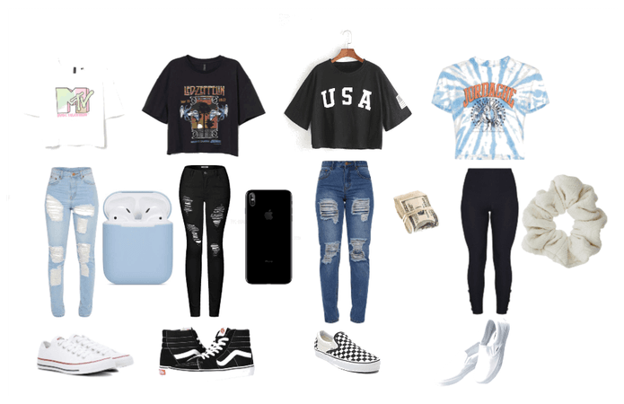 cute crop top outfits