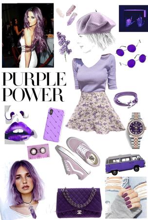 purple power 💜