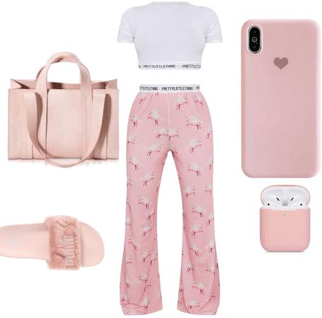 pink sleepover