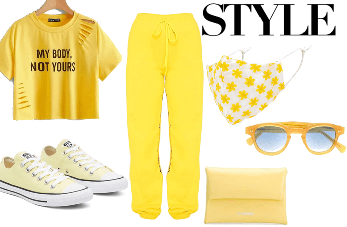 yellow is the new black!