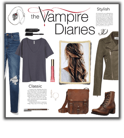 TVD-Inspired Look