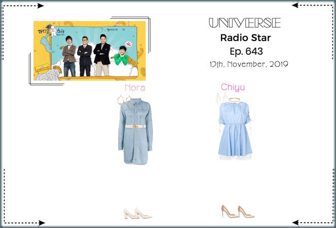 UNIVERSE Radio Star Ep. 643