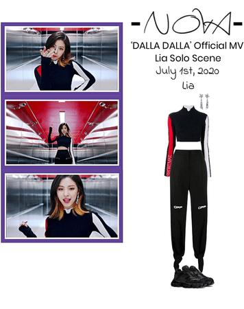-NOVA- (DALLA DALLA) Official MV   Lia Solo Scene