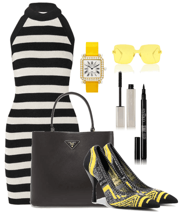 Yellow and black; Black and Yellow