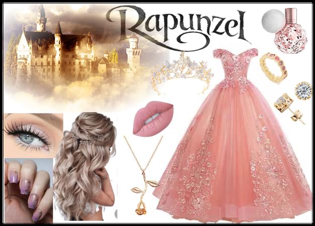 Rapunzel in Pink