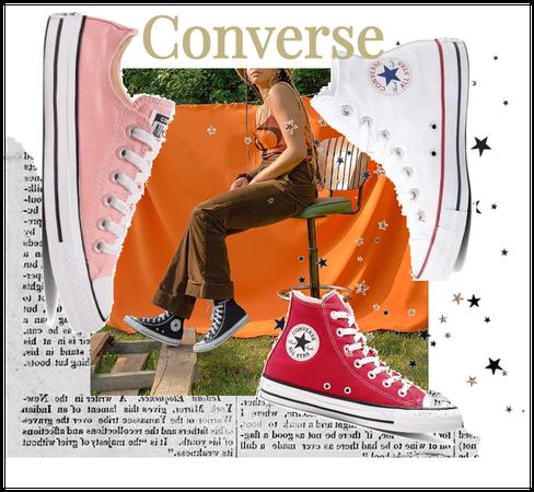 '90s Converse Fashion