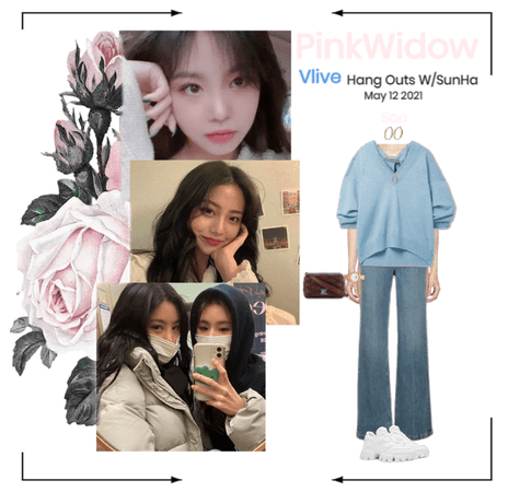 PinkWidow{핑크 위도우}Vlive with SunHa!