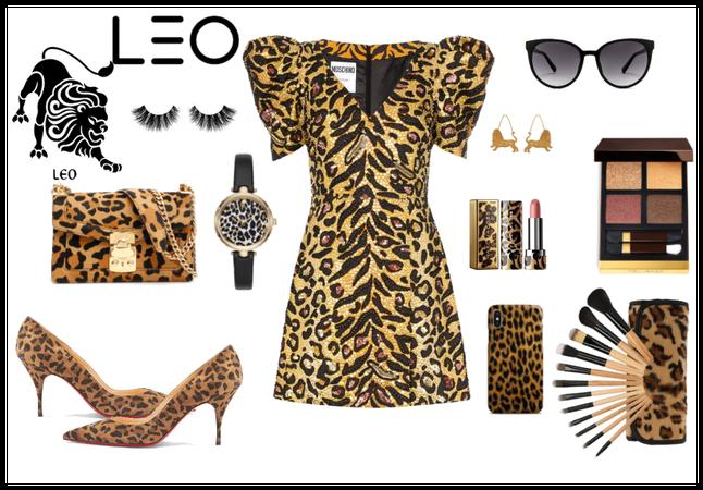 #leo style animal party