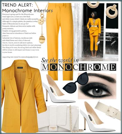 Summer monochrome style