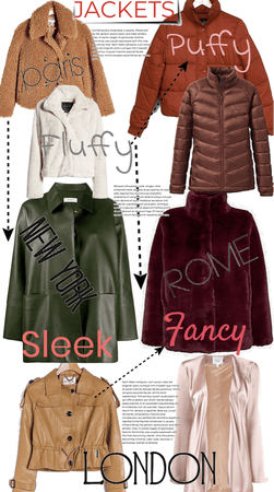 JACKETS - Fluffy/Puffy/Sleek/Fancy