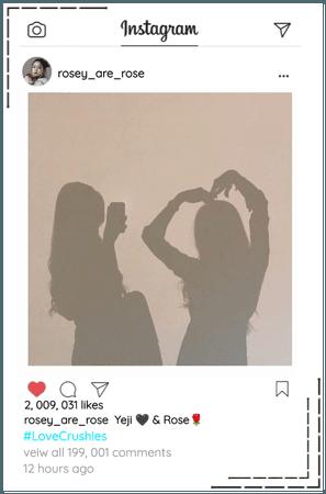 Crushes (호감) [Rose] Instagram Update